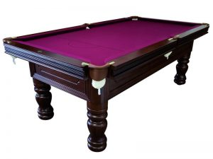Isolated-purple-pool-billiard-snooker-table