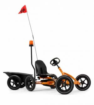 BERG Buddy Orange with trailer junior + light pole - Inco
