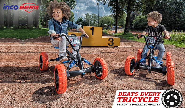 FUN WITHOUT FEAR! HERE'S WHY A BERG PEDAL KART IS SAFE FOR YOUR KIDS